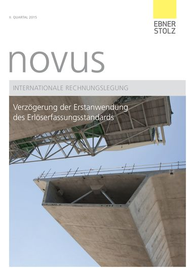 novus Internationale Rechnungslegung II. Quartal 2015