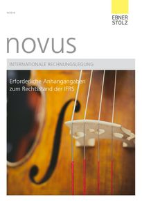 novus Internationale Rechnungslegung III/2016