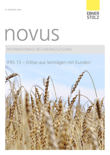 novus Internationale Rechnungslegung III. Quartal 2014