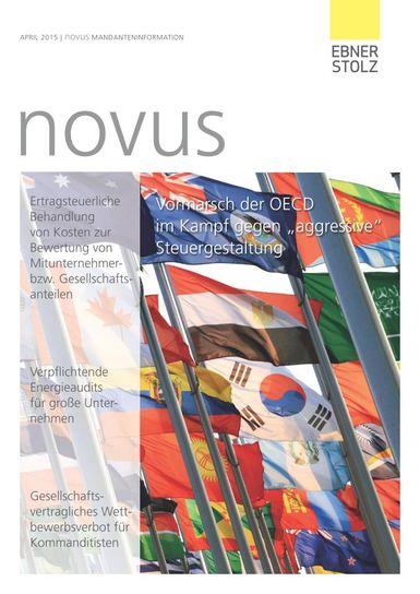 novus Mandanteninformation April 2015