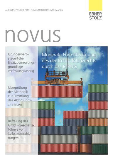 novus Mandanteninformation August/September 2015