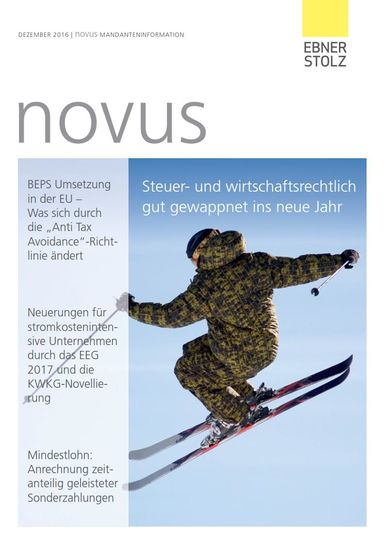 novus Mandanteninformation Dezember 2016