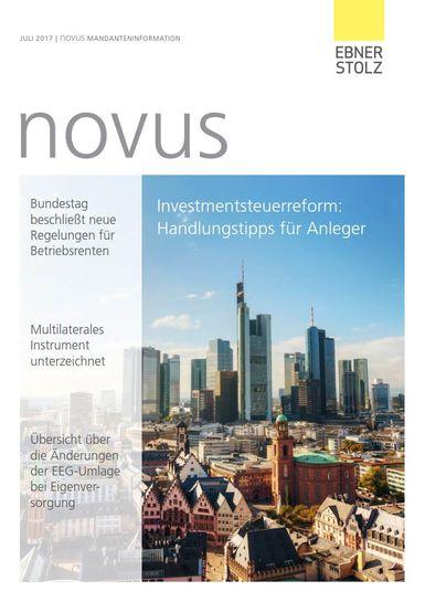 novus Mandanteninformation Juli 2017