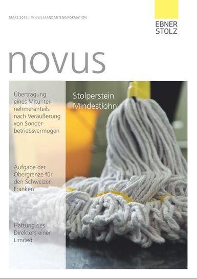 novus Mandanteninformation März 2015