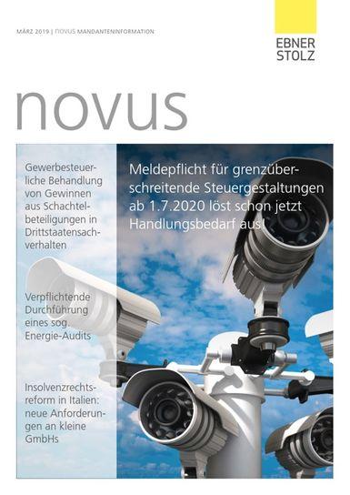 novus Mandanteninformation März 2019