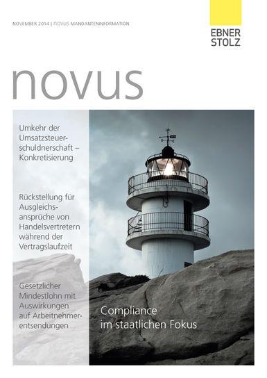 novus Mandanteninformation November 2014