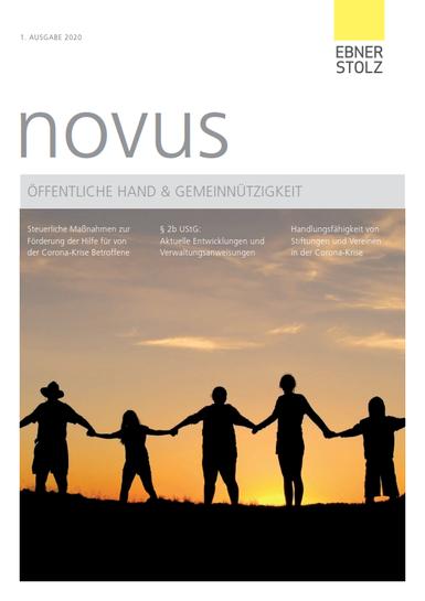 novus Öffentliche Hand  Gemeinnützigkeit 1. Ausgabe 2020