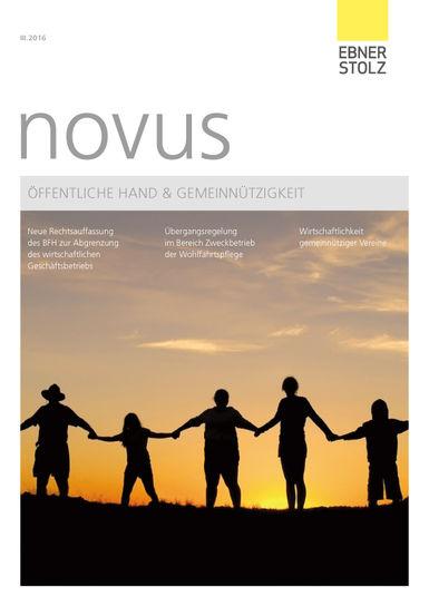 novus Öffentliche Hand  Gemeinnützigkeit 3. Ausgabe 2016