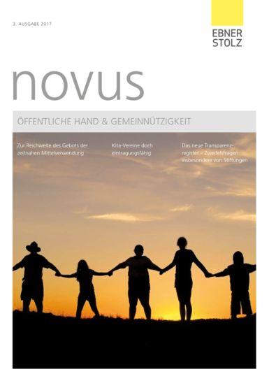 novus Öffentliche Hand  Gemeinnützigkeit 3. Ausgabe 2017