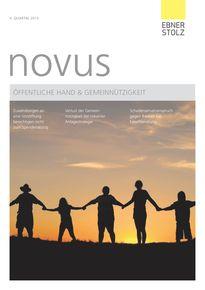 novus Öffentliche Hand  Gemeinnützigkeit II. Quartal 2015