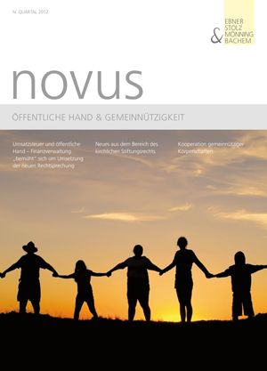 novus Öffentliche Hand  Gemeinnützigkeit IV. Quartal 2012