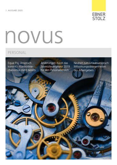 novus Personal 1. Ausgabe 2020
