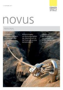 novus Personal 3. Ausgabe 2017