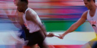 relay racer